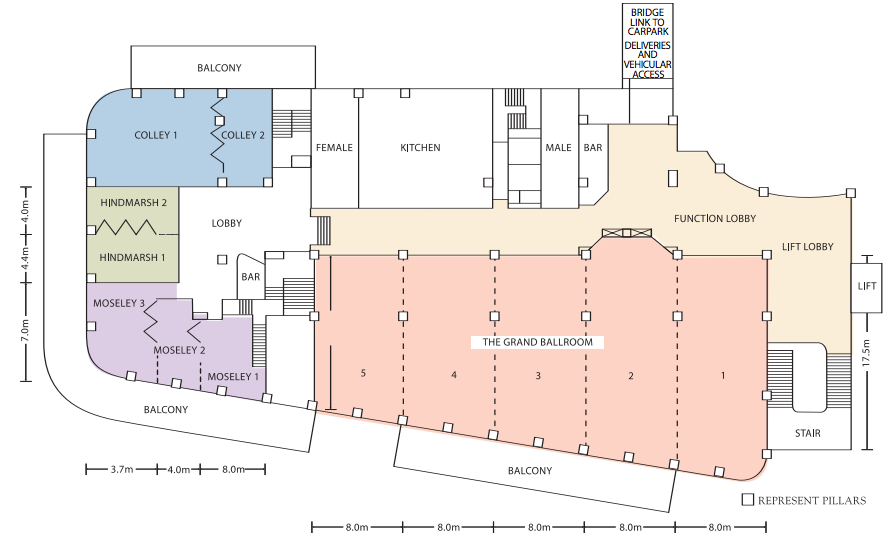 stamford grand adelaide conference floorplan