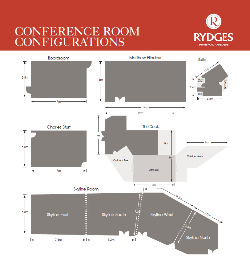 rydges south park conference floorplan 2